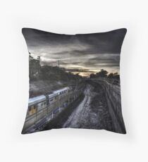 Kirrawee Track Works Throw Pillow