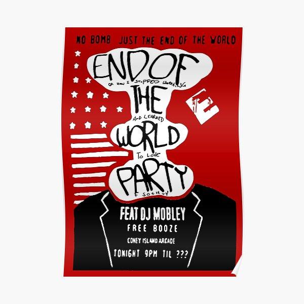 Mr. Robot - Fin de l'illustration de l'affiche du Parti du Monde Poster