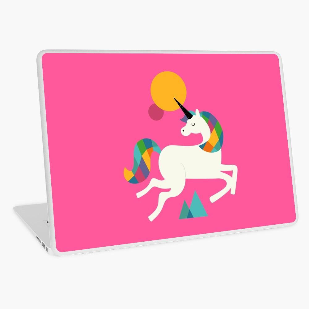 To be a unicorn Laptop Skin