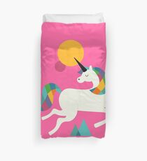 To be a unicorn Duvet Cover