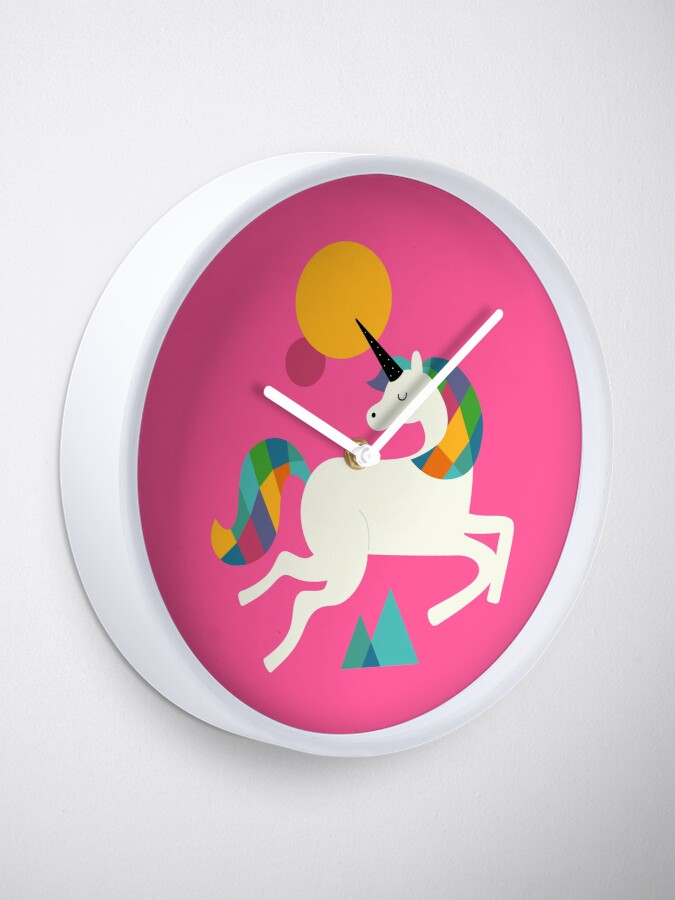 Alternate view of To be a unicorn Clock