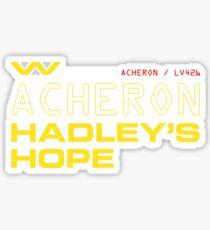 LV426 - Acheron Hadleys Hope Sticker