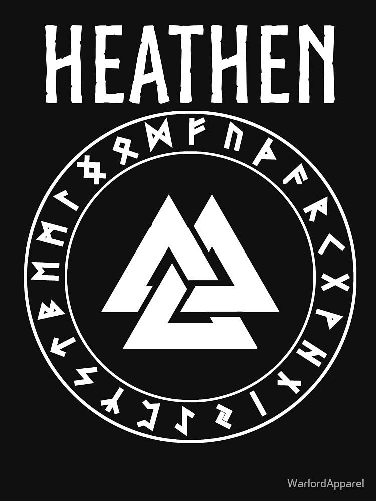 Heathen Norse Paganism Unisex T Shirt By Warlordapparel Redbubble