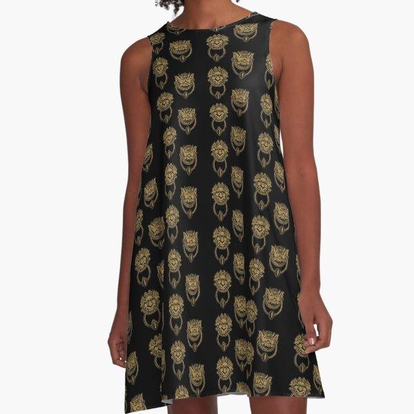 Door Knockers A-Line Dress