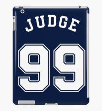 NY Yankees Aaron Judge 99 - All Rise  iPad Case/Skin