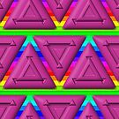 Pink Triangles Pattern by technoqueer