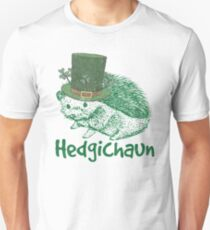Hedgehog St Patricks Day Unisex T-Shirt