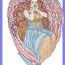 Valentine Angel by redqueenself