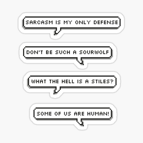 TN - Quotes about Stiles Sticker