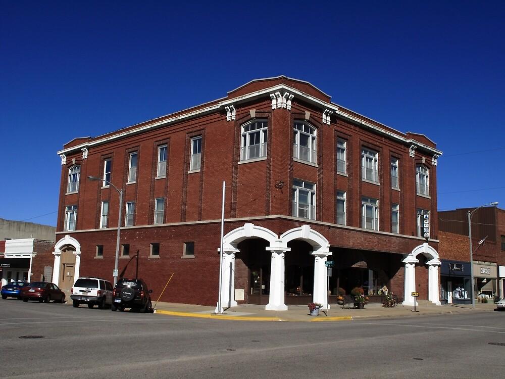 Abilene, Kansas - Spruce and 3rd by Frank Romeo
