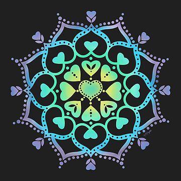 Universal Love Mandala  by ArtVixen