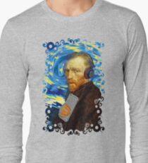 Funky Vangogh Long Sleeve T-Shirt