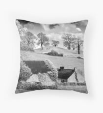 Navan Fort  Throw Pillow
