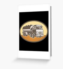 Cement Truck Greeting Card
