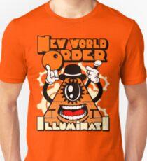 Anti New World Order - Clockwork Orange Mashup Unisex T-Shirt
