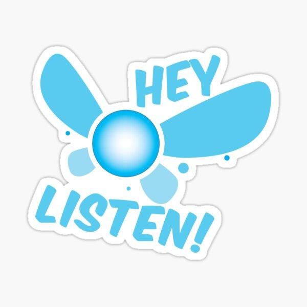 Navi - Hey Listen! Sticker