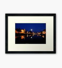 Cork By Night Framed Print