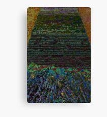 1000 flowers on 1000 steps Canvas Print