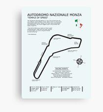 Autodromo Nazionale Monza Canvas Print