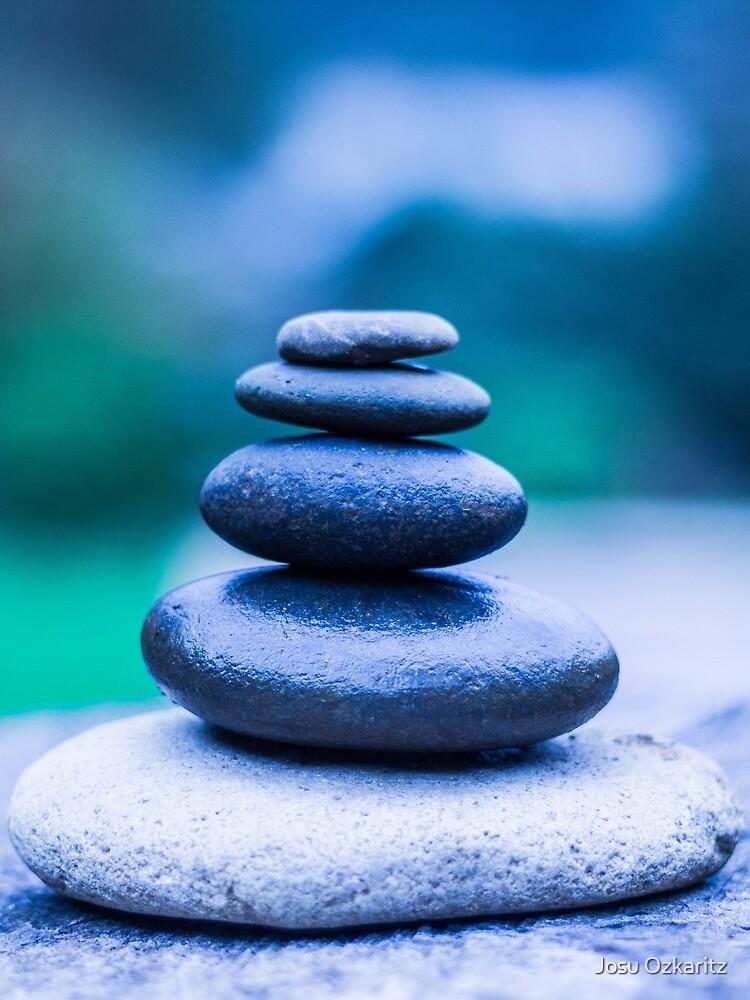 Zen stones blue by Joshollywood