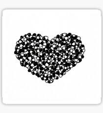 Drugs Heart Sticker