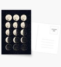 Moon Cycle Postcards