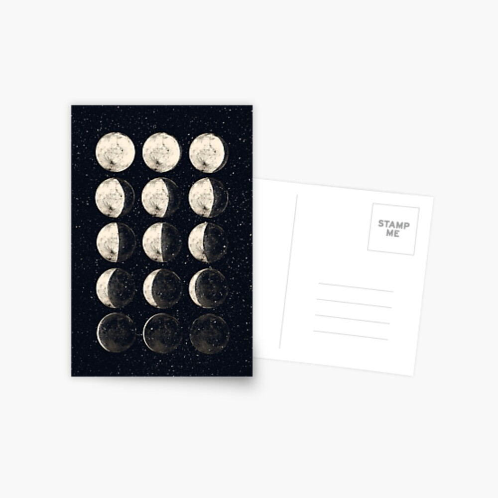 Moon Cycle Postcard