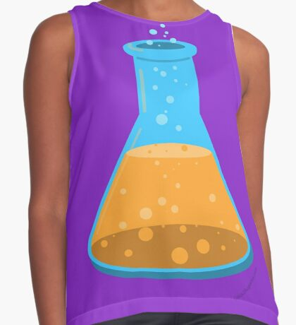 Science Erlenmeyer Flask for Science Enthusiasts Contrast Tank