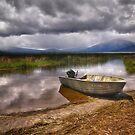 The Fishing Boat by Kathy Weaver