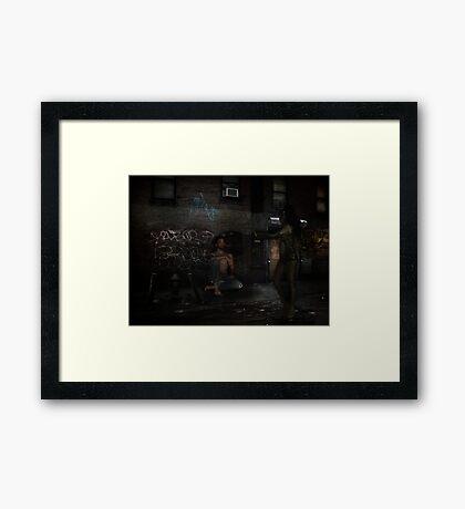 Jezebel Framed Print
