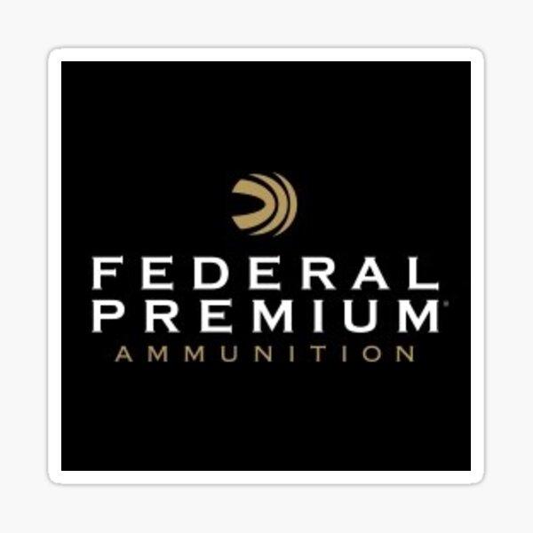 Federal Premium (black) Sticker
