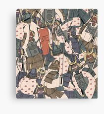 Samurai Ghosts Canvas Print