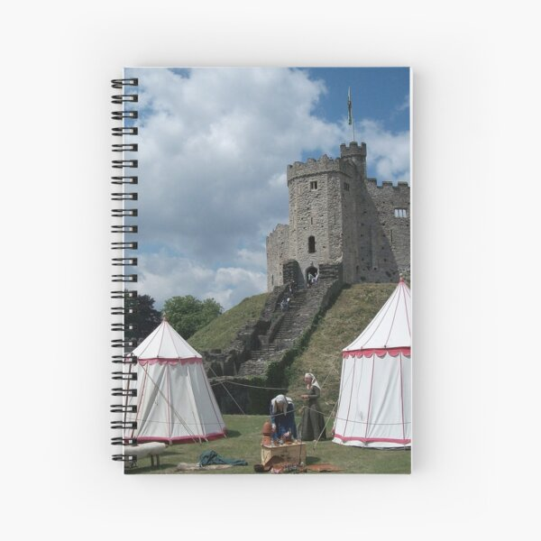 Cardiff Castle Encampment Spiral Notebook