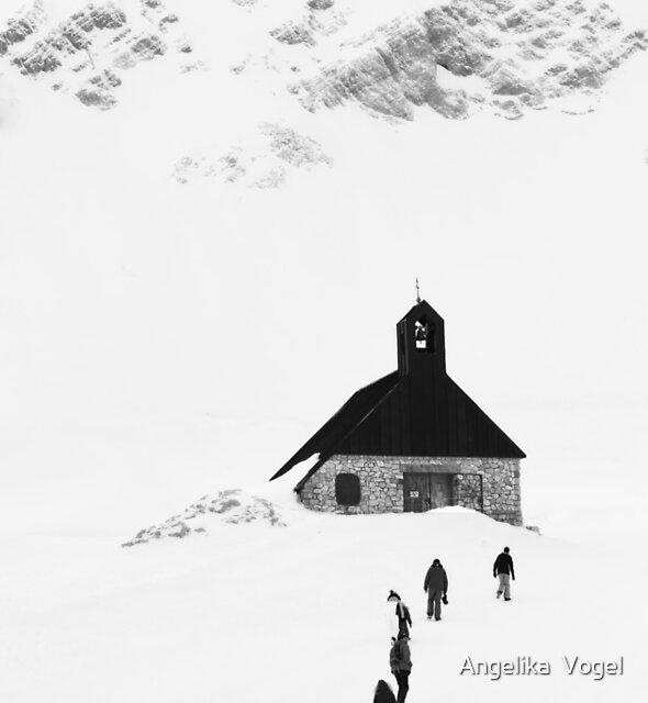 Under the Rock ... Zugspitzland by Angelika  Vogel