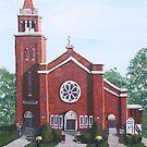Saint Luke the Evangelist, Westborough, MA by Jill Galvin