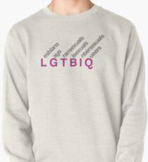 LGTBIQ design Sudadera cerrada