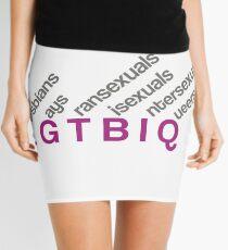 LGTBIQ design Minifalda