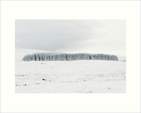 Wicklow Gap Snow by Shay Murphy
