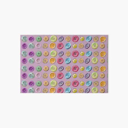 Buttons galore Art Board Print