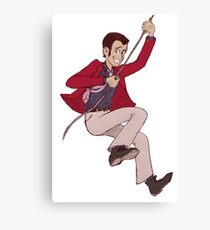 Red Jacket Lupin III Canvas Print