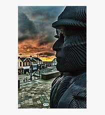 The Dawn Of The Miners Photographic Print