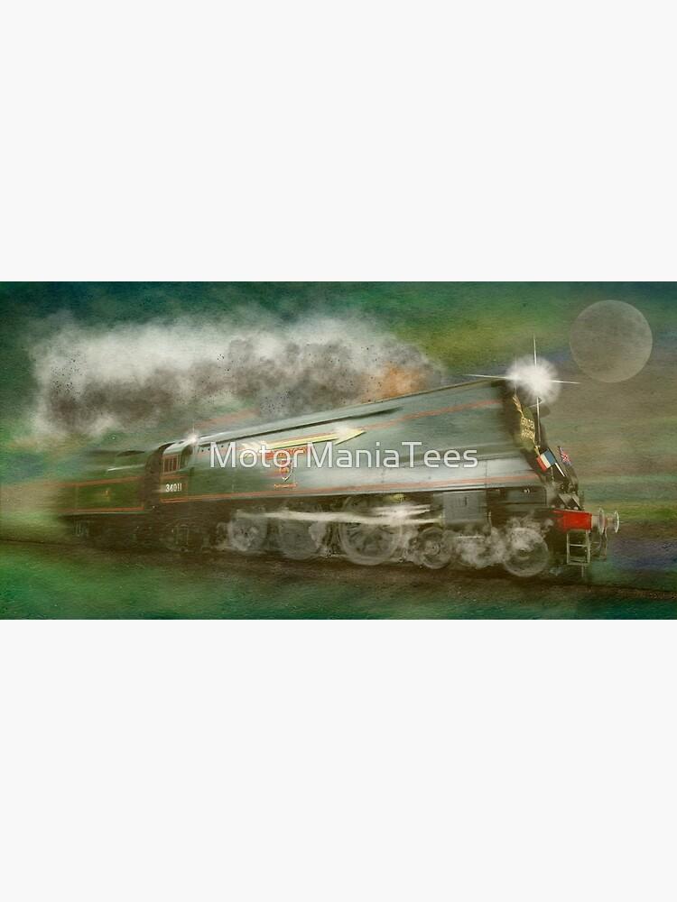 The Golden Arrow Historic Steam Train by MotorManiac by MotorManiaTees