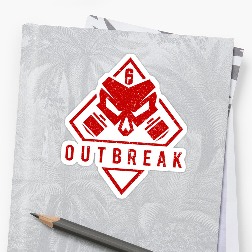 Outbreak  (red gritty) by RoufXis