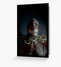a madonna fit to be tied Greeting Card
