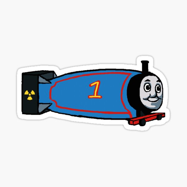 Thomas the Thermonuclear Bomb Sticker