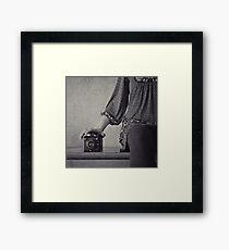 six-20. Framed Print
