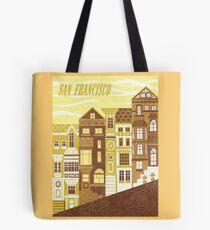 San Francisco (Mellow Gold) Tote Bag