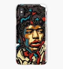 Faces Of The World - Jimmy Hendrix iPhone Case/Skin