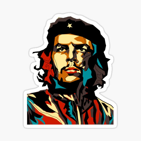 Che Guevara Pegatina