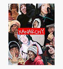 Lil Xan XANARCHY  Photographic Print